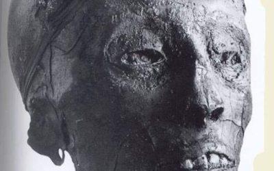 King Tut's mummy