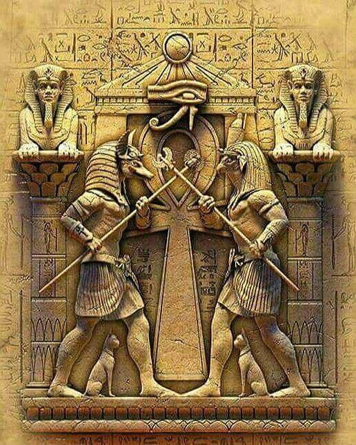 What are the main Egyptian gods?