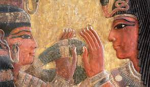 Life of pharaohs in ancient Egypt