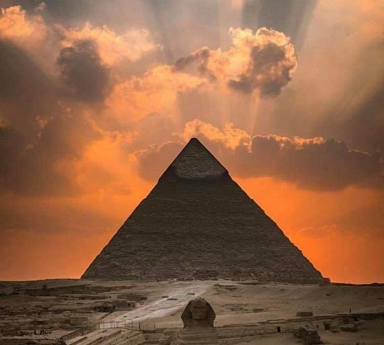 The Great Sphinx and the Pyramid of Giza Complex
