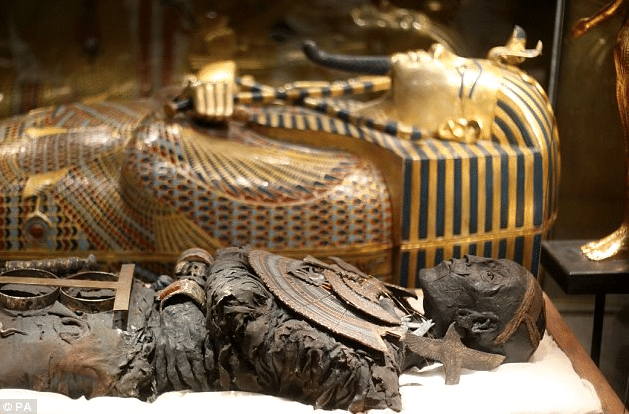What was in King Tut's tomb when it was found?