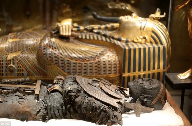 King Tut Treasures of the Golden Pharaoh(original photos)