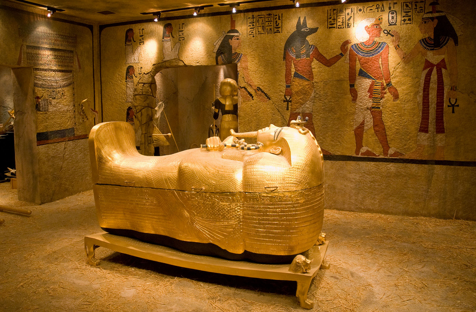 Inside King Tutankhamun's Tomb