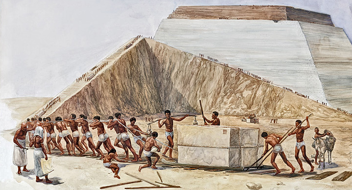 A Day in the life of a pyramid builder in Ancient Egypt