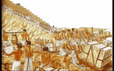 A Day in the life of the pyramid builders in Ancient Egypt
