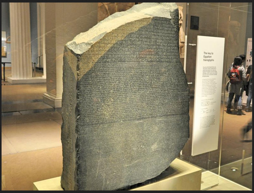 What is the Rosetta Stone and why is it important?