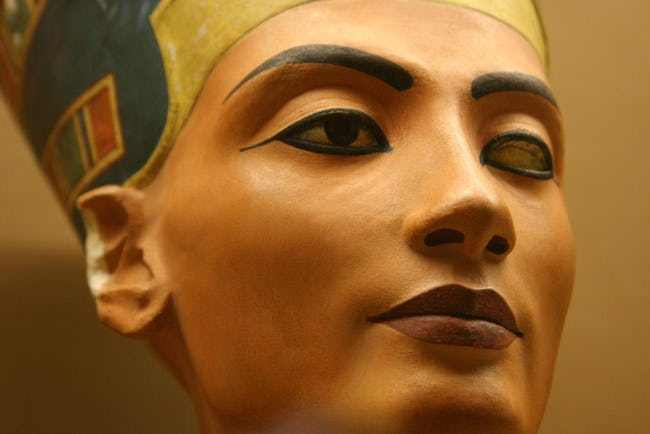 The bust of Nefertiti, the work that its creator hid