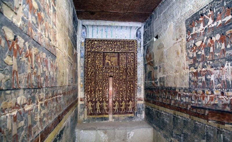 Egypt Opens Gorgeous Ancient Egyptian Tomb from the Old Kingdom for the First Time