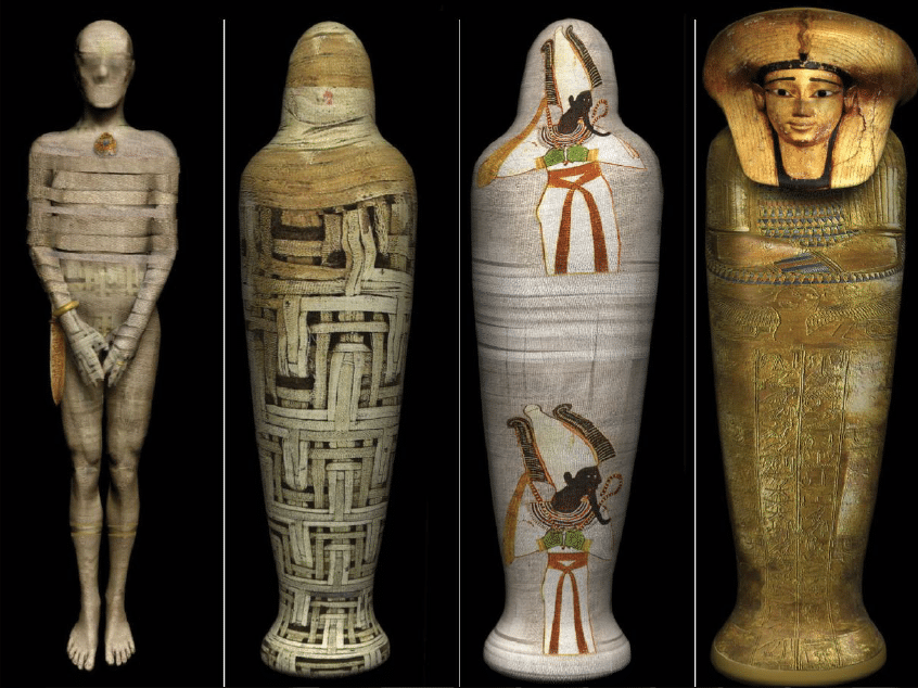 The Many Layers of an Egyptian Mummy