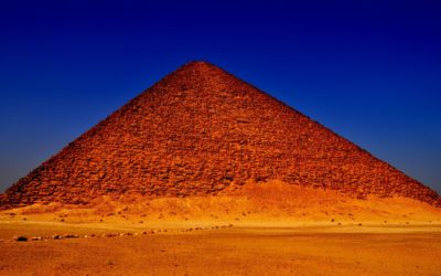 Inside the Red Pyramid of Sneferu