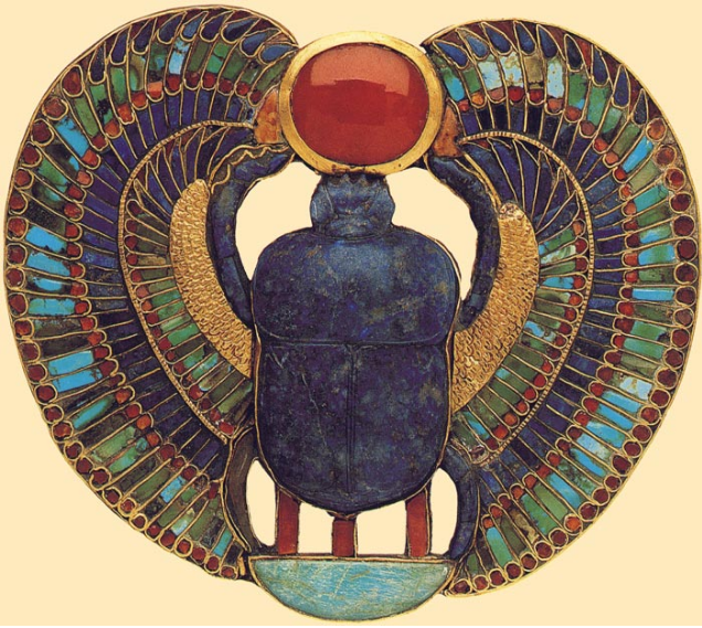 Image result for the scarab jewelry of Tutankhamun