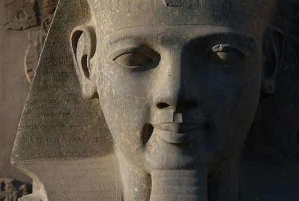 The great pharaoh of Egypt, Ramesses II
