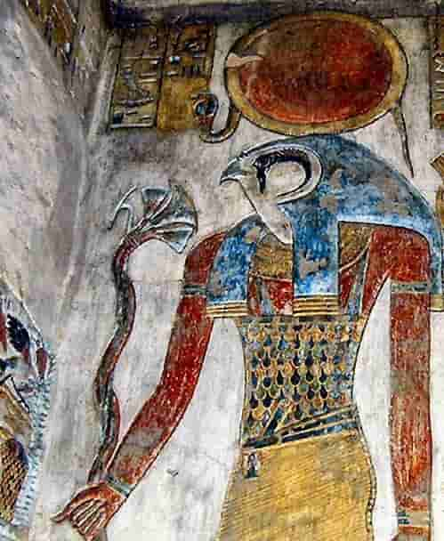 Who is the Egyptian Sun God Ra?