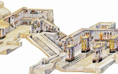 A tour of the Interior of the Tomb of Nefertari