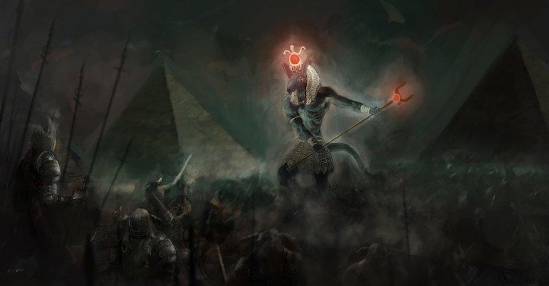 Set: god of war and chaos??