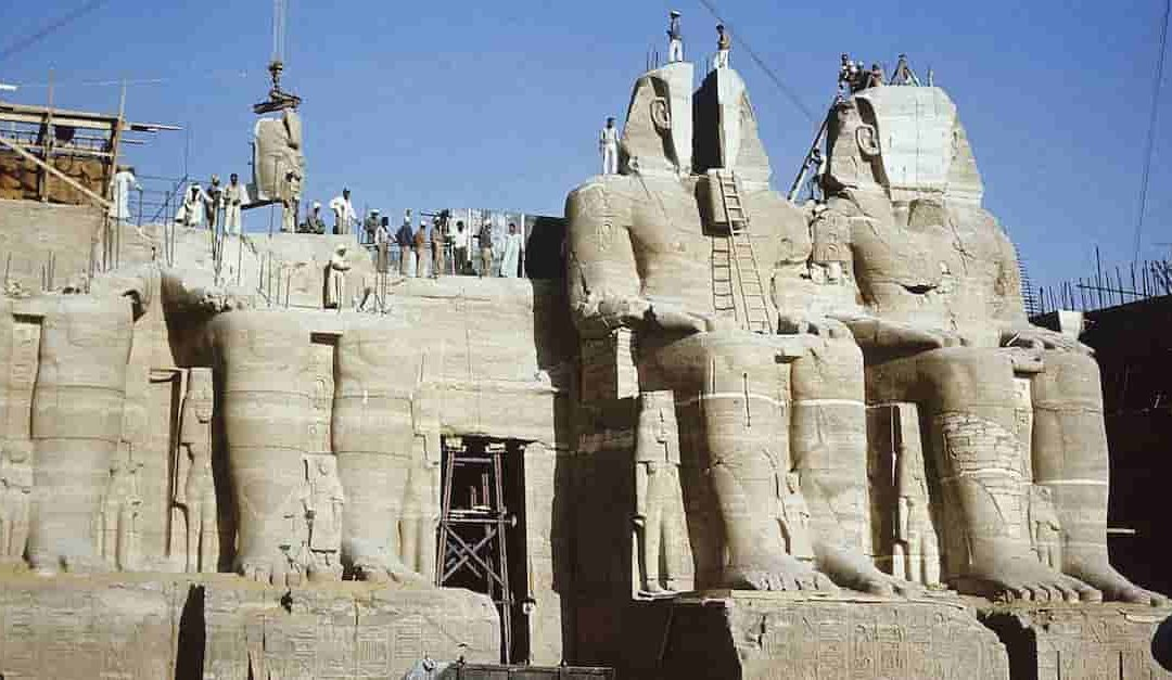 Temples of Abu Simbel Relocation