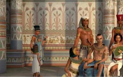 The royal family in ancient Egypt