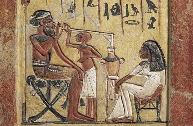 Beer, the most popular drink in ancient Egypt