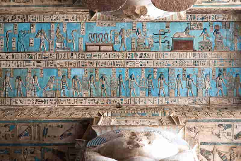 Visit to the Temple of Hathor, Goddess of Love