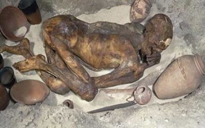 How did Ginger The mummy die?