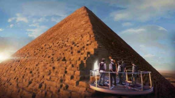 What's inside Egyptian Pyramids?