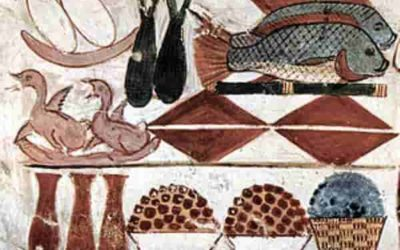 Food of the ancient Egypt