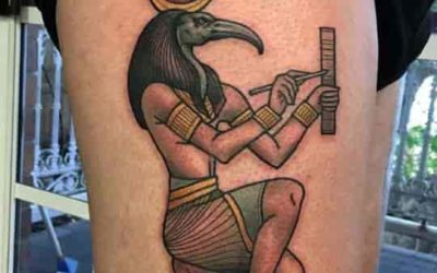 Thoth, Egyptian Scribe God of Wisdom