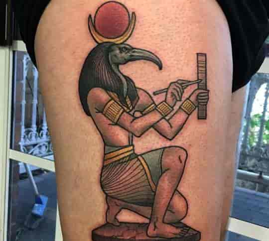 Thoth, Egyptian Scribe God of Wisdom