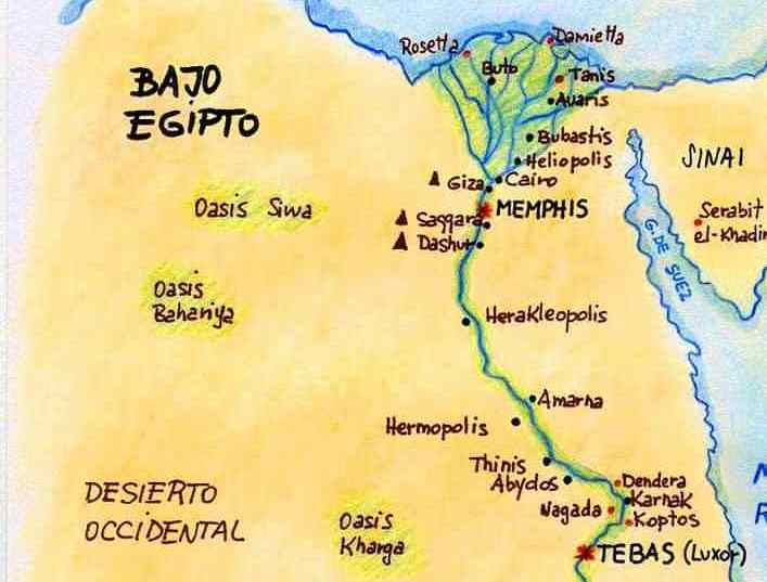 Ancient cities of Egypt