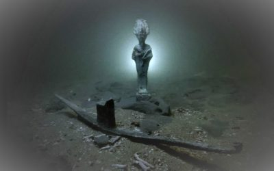 Heracleion, the ancient Egyptian city that sank into the sea