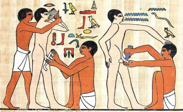 What current medical practices have their origin in Ancient Egypt?