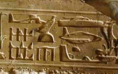 The mystery behind the Egyptian hieroglyphs of advanced technology