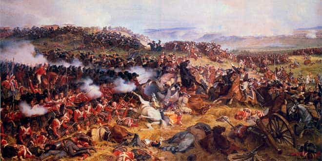 What happened in the Battle of Waterloo?