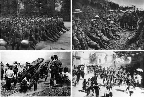 World War 1: Summary, Timeline, Facts and Causes