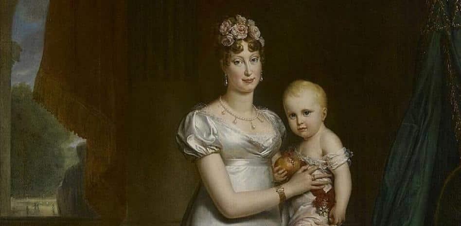 What happened to Napoleon's son?