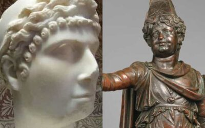 The mystery of the twins of Cleopatra and Mark Antony