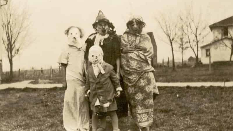 In strange images: Halloween costumes of the 20th century