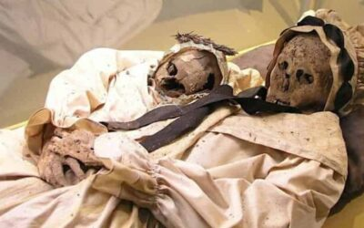 Box mummies: The remains of an 18th century family