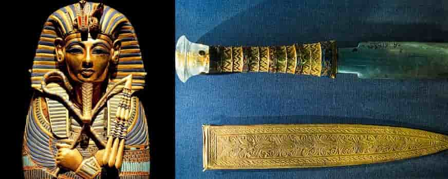 Why King Tut had an awesome dagger from outer space?