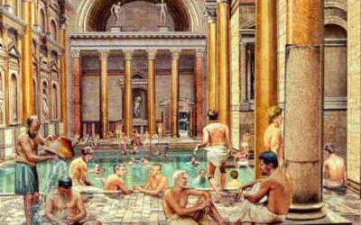 Business, gossip and pleasure: The curious life in the ancient Roman baths