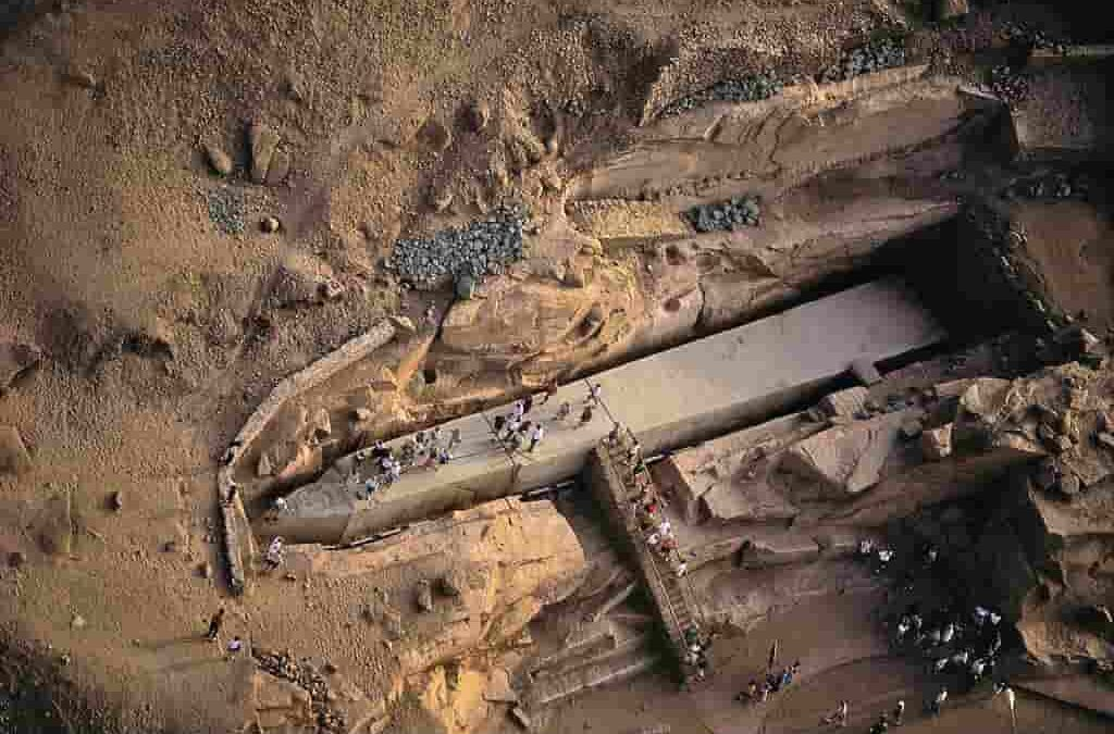 Mysteries Of ancient Egypt: The Unfinished Obelisk Of Aswan