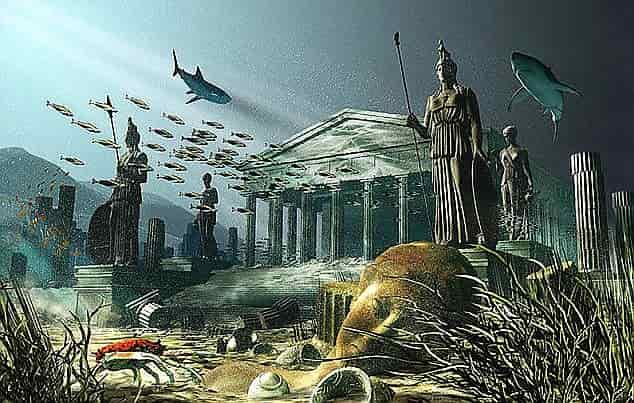 Possible signs of the existence of Atlantis