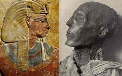 Pharaoh Seti I, father of Ramses II