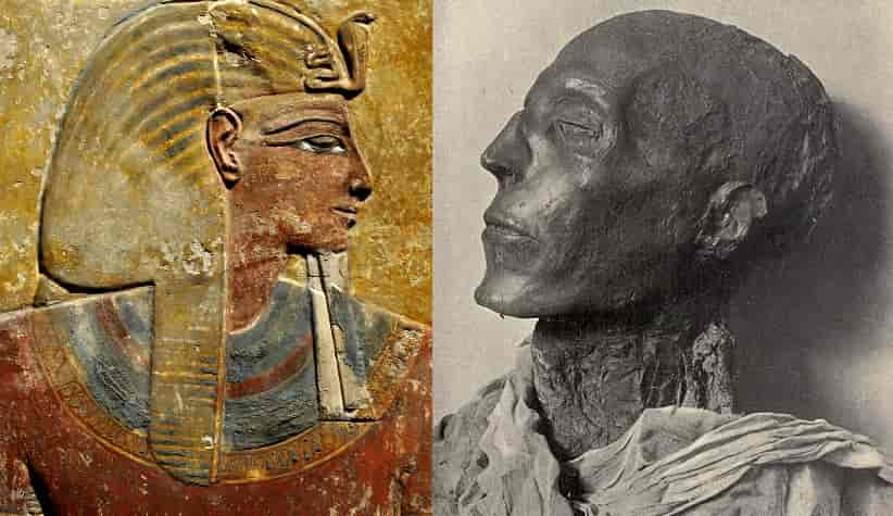 Pharaoh Seti I, father of Ramses II