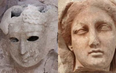 Catacombs, mummies, funerary masks and sculptures are discovered in Alexandria, Egypt