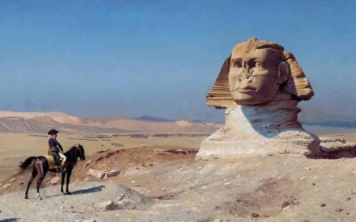 What did Napoleon say after spending a night inside the Great Pyramid?