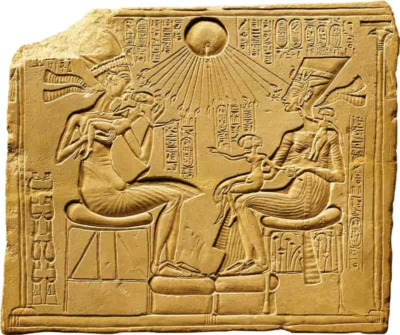 Amarna, the court of Akhenaten and Nefertiti