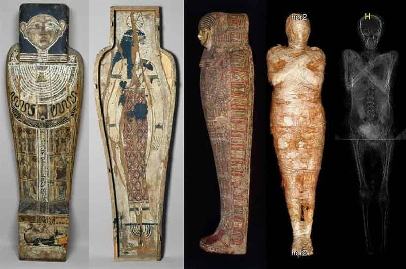 First Egyptian mummy of a pregnant woman is identified by researchers