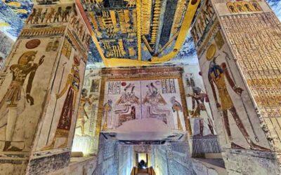 Virtual tour of the wonderful tomb of Ramses VI