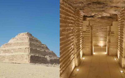 The Magnificent Step Pyramid of Djoser in Saqqara
